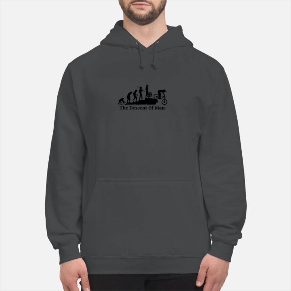 The descont of man shirt hoodie