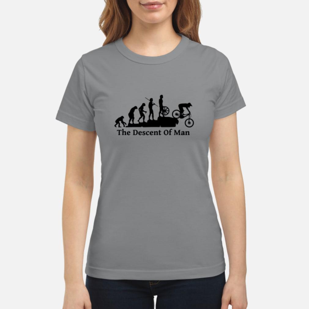 The descont of man shirt ladies tee