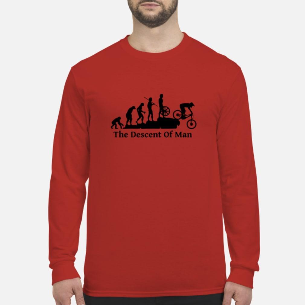 The descont of man shirt Long sleeved