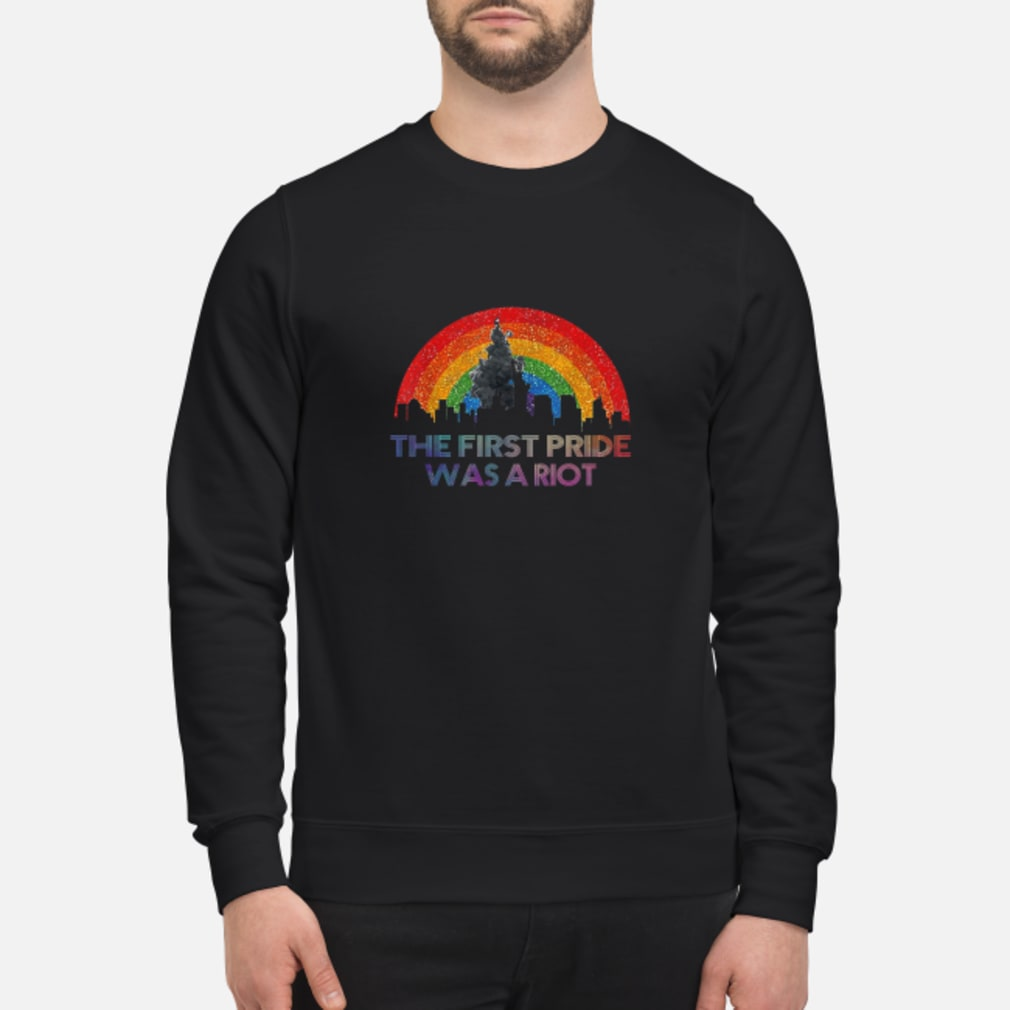 The first pride was a riot shirt sweater