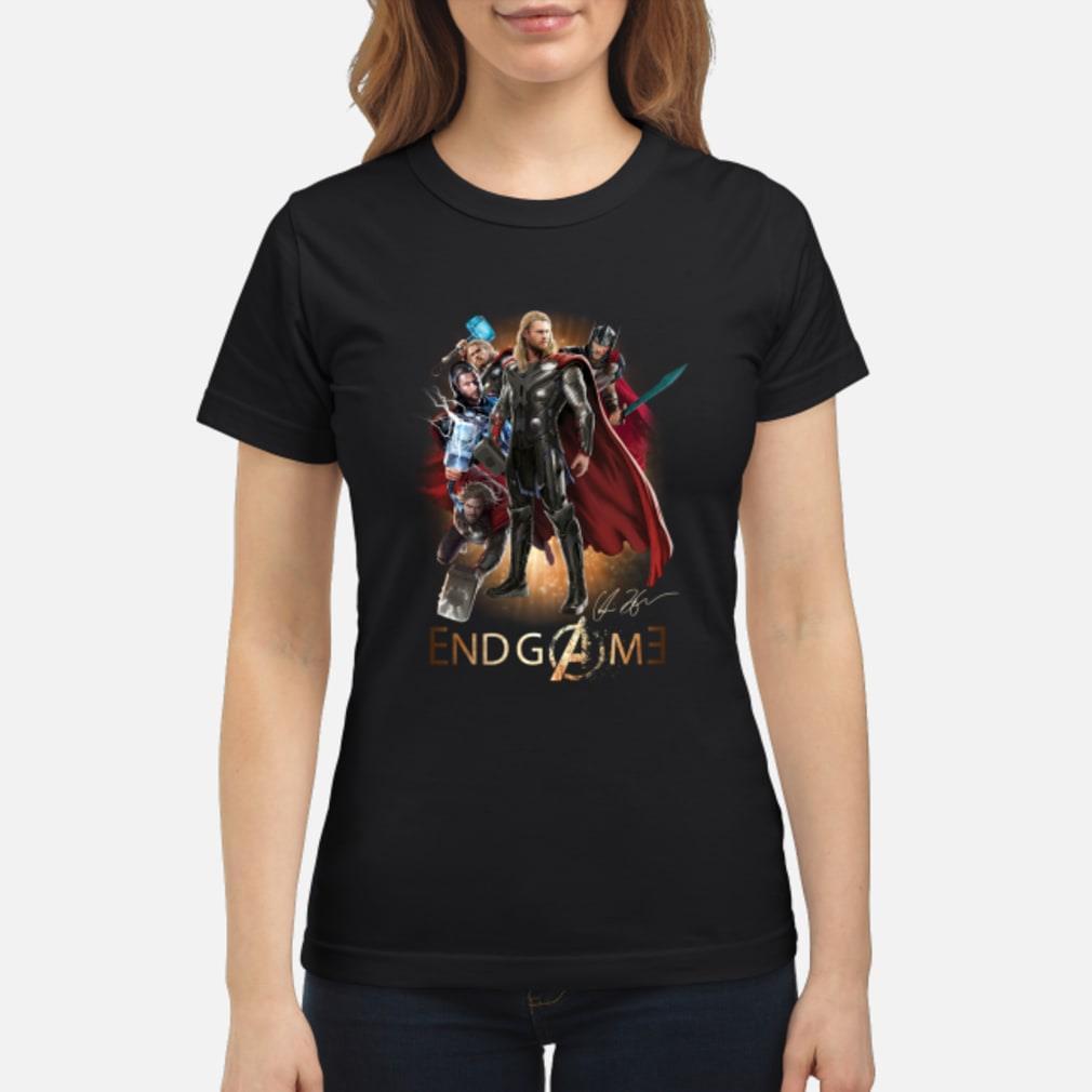 Thor Marvel Avengers Indgame shirt ladies tee