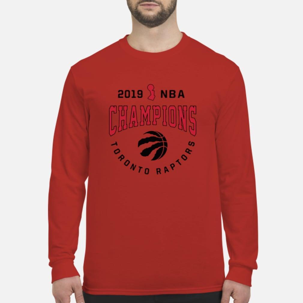 Toronto 2019 Nba Champions shirt Long sleeved