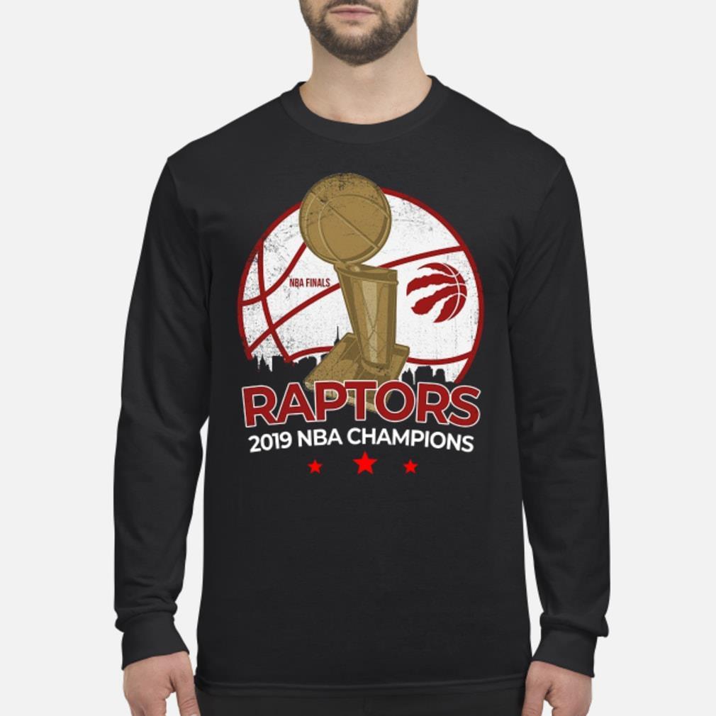 Toronto Raptors NBA 2019 Finals Champions Roster Shirt Long sleeved