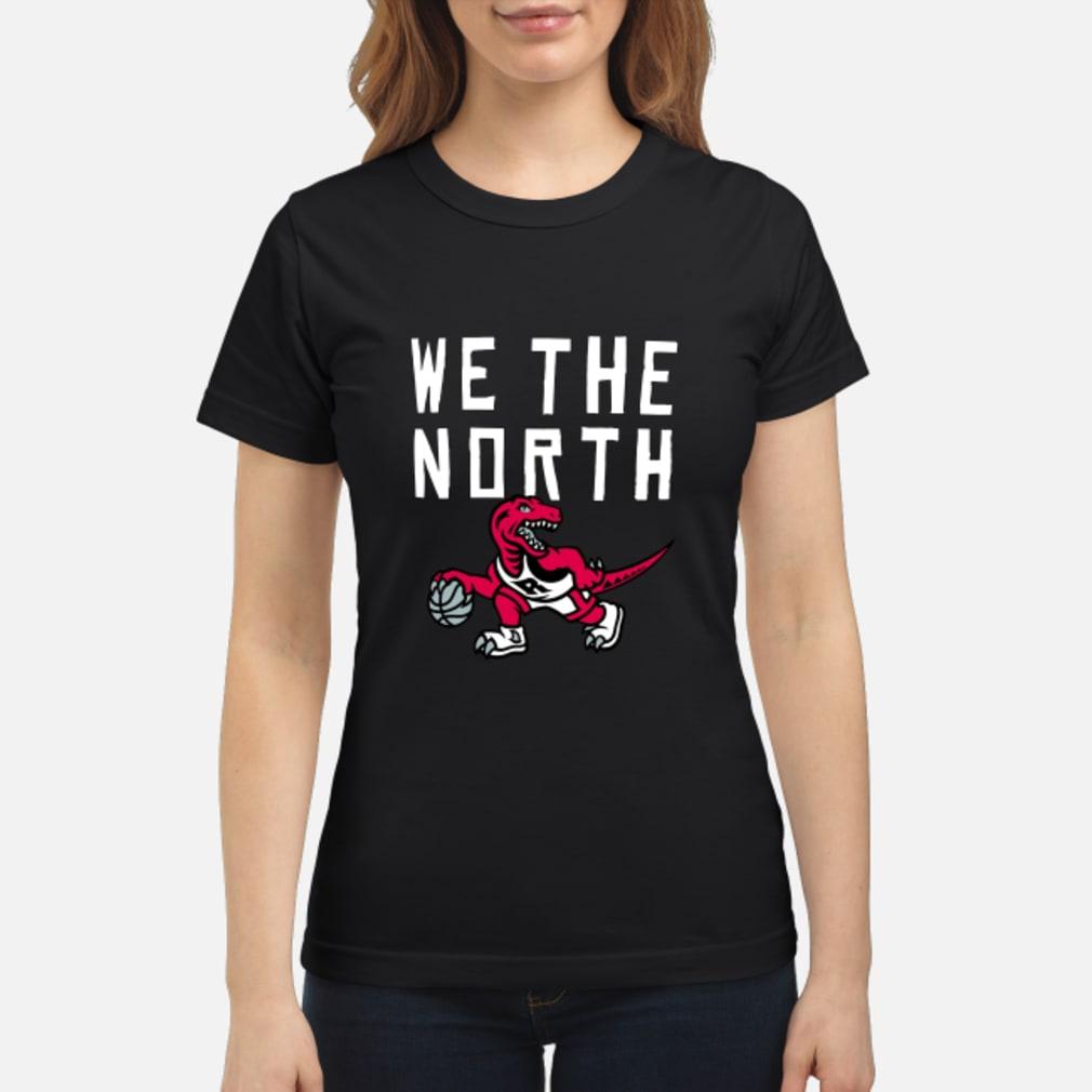Toronto Raptors we the north shirt ladies tee