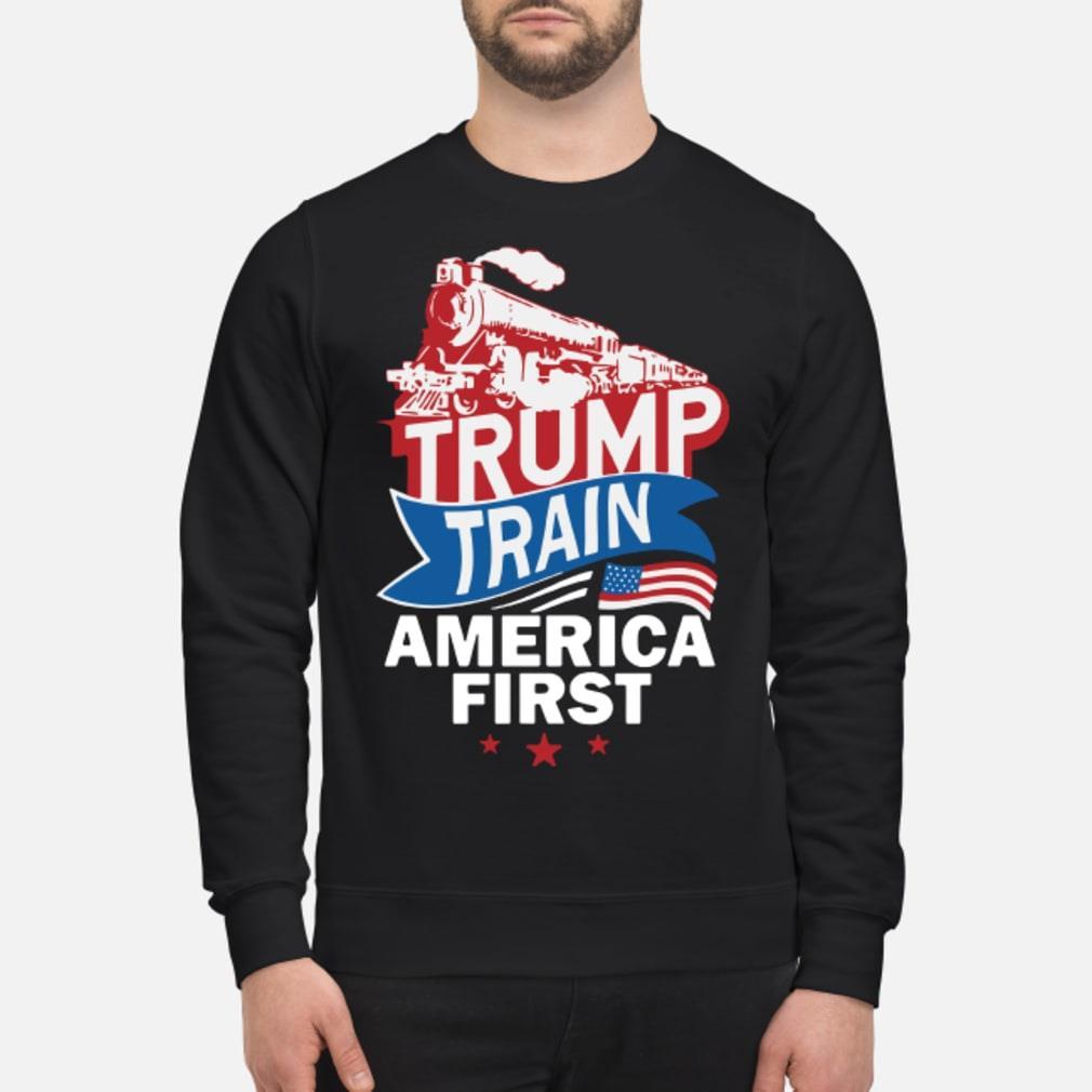 Trump Train America First Shirt sweater