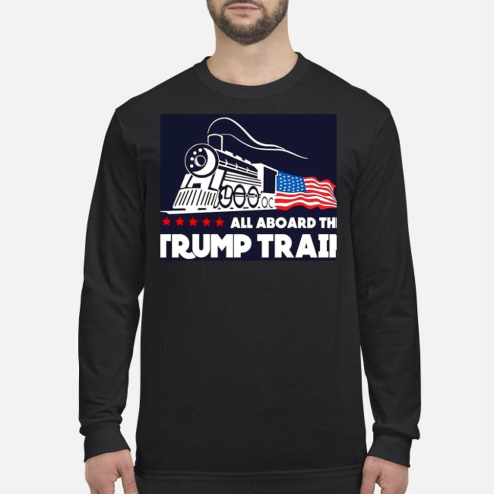 Trump train shirt Long sleeved