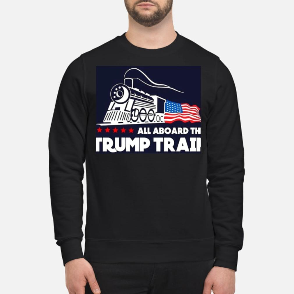 Trump train shirt sweater
