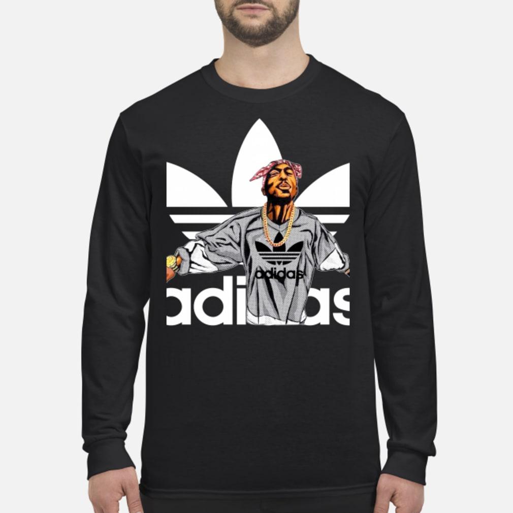 Tupac Shakur Adidas shirt Long sleeved