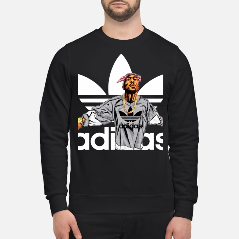 Tupac Shakur Adidas shirt sweater