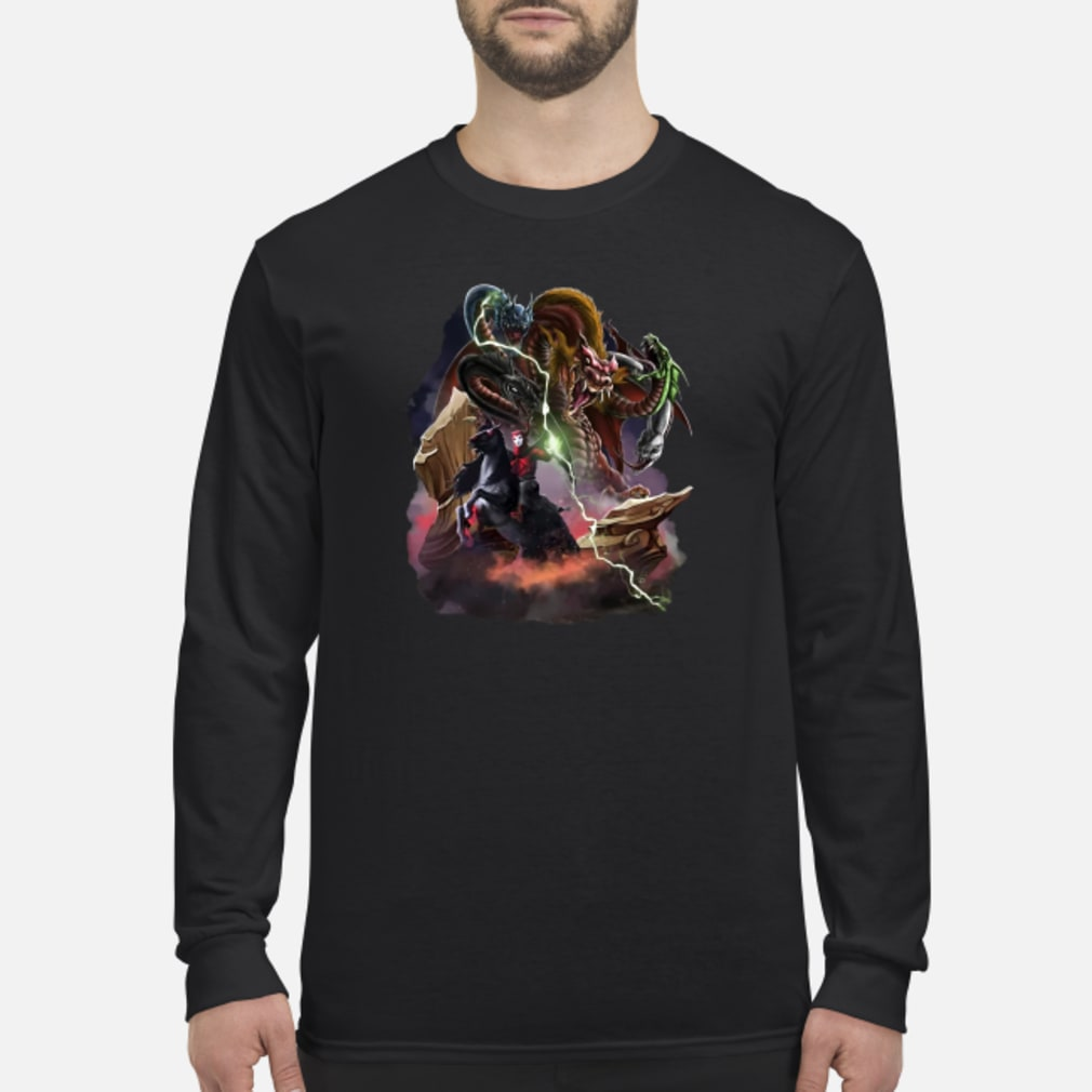 Venger and Tiamat shirt Long sleeved