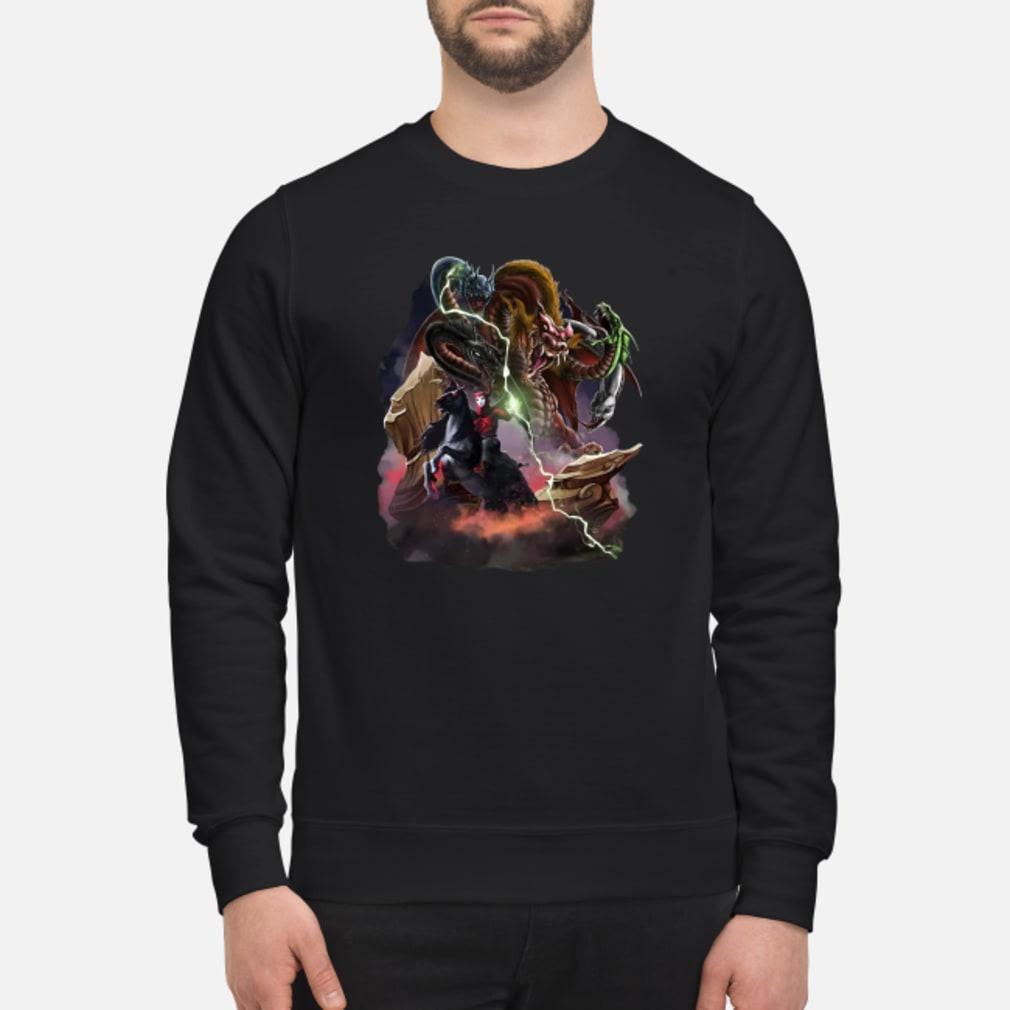 Venger and Tiamat shirt sweater