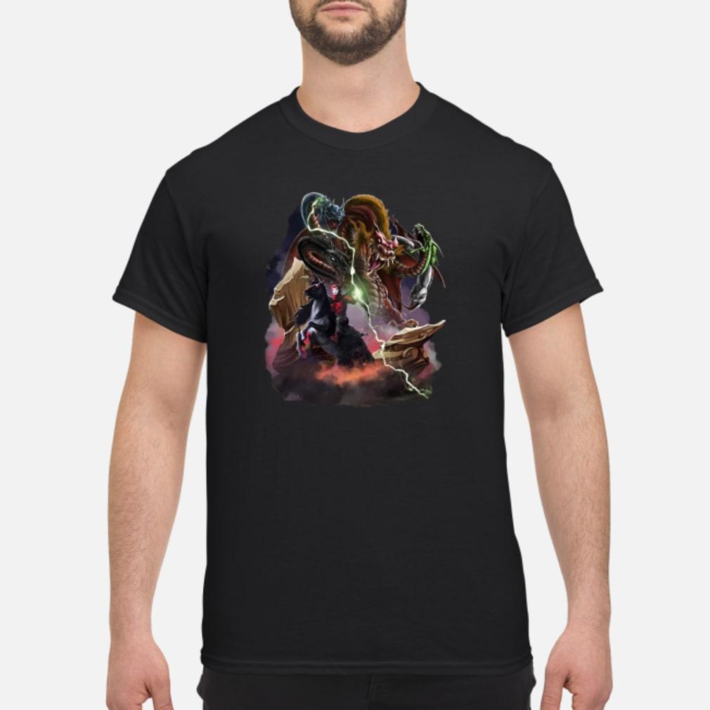 Venger and Tiamat shirt
