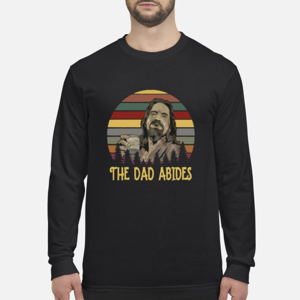 Vintage The Dad Abides Sweater Long sleeved