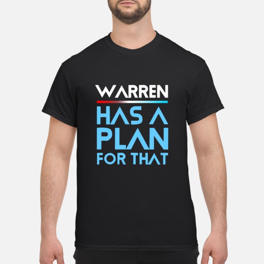 Warren Has A Plan For That Shirt
