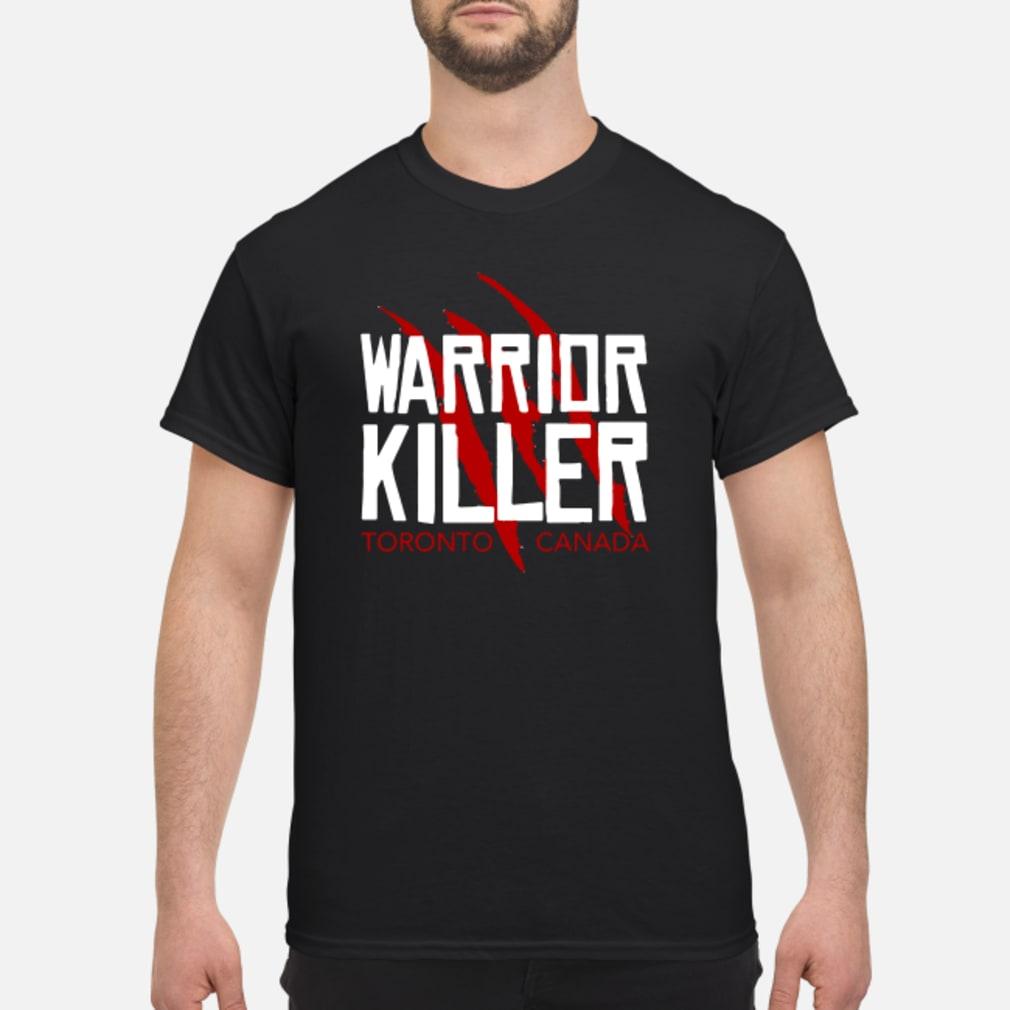 Warrior Killer Toronto Basketball fan shirt