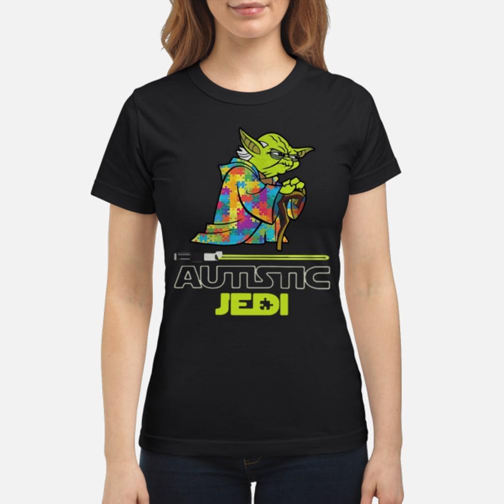 Yoda Seagulls Autism Jedi shirt ladies tee