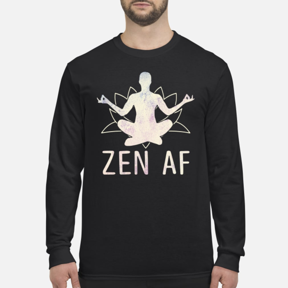 Zen AF Yoga shirt Long sleeved