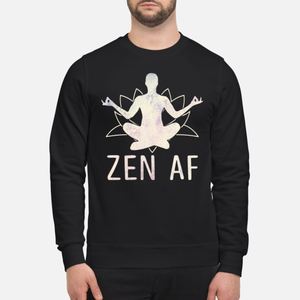 Zen AF Yoga shirt sweater