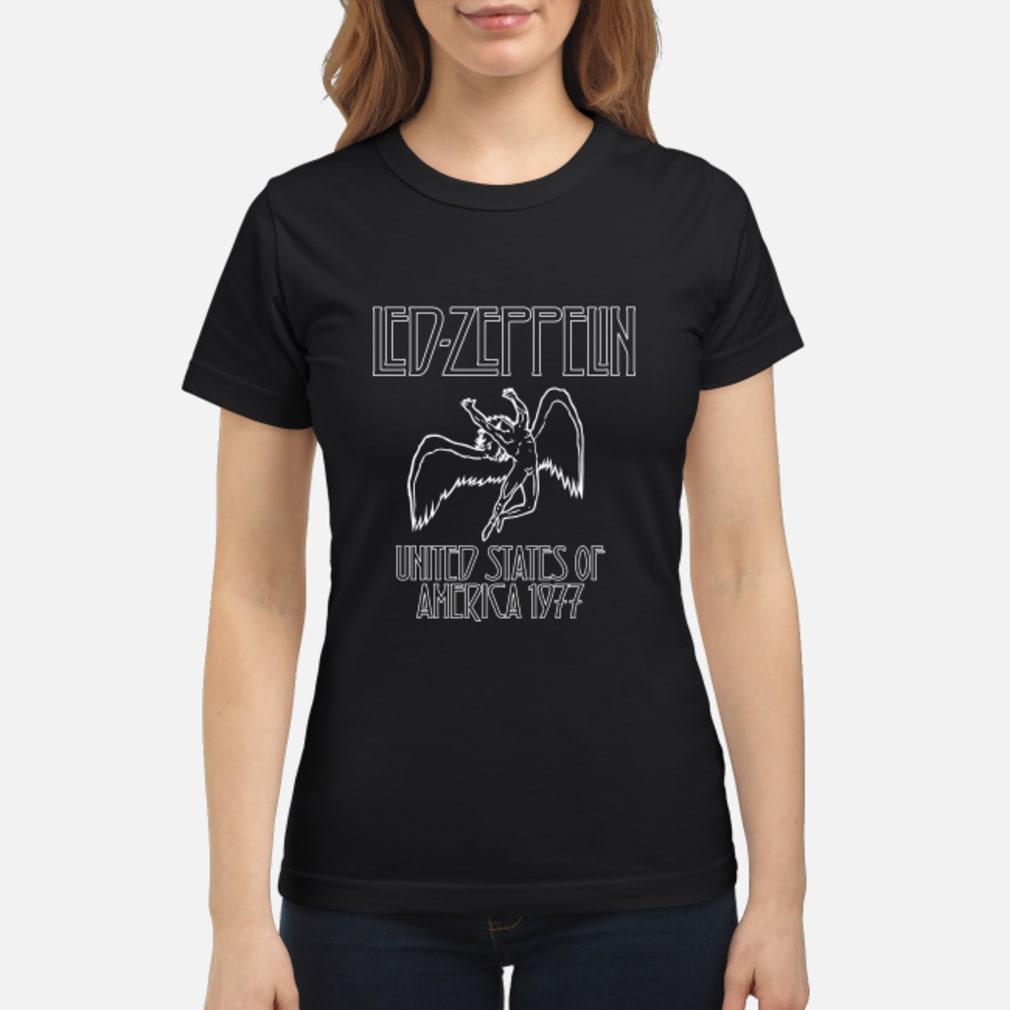 shirt led zeppelin shirt ladies tee