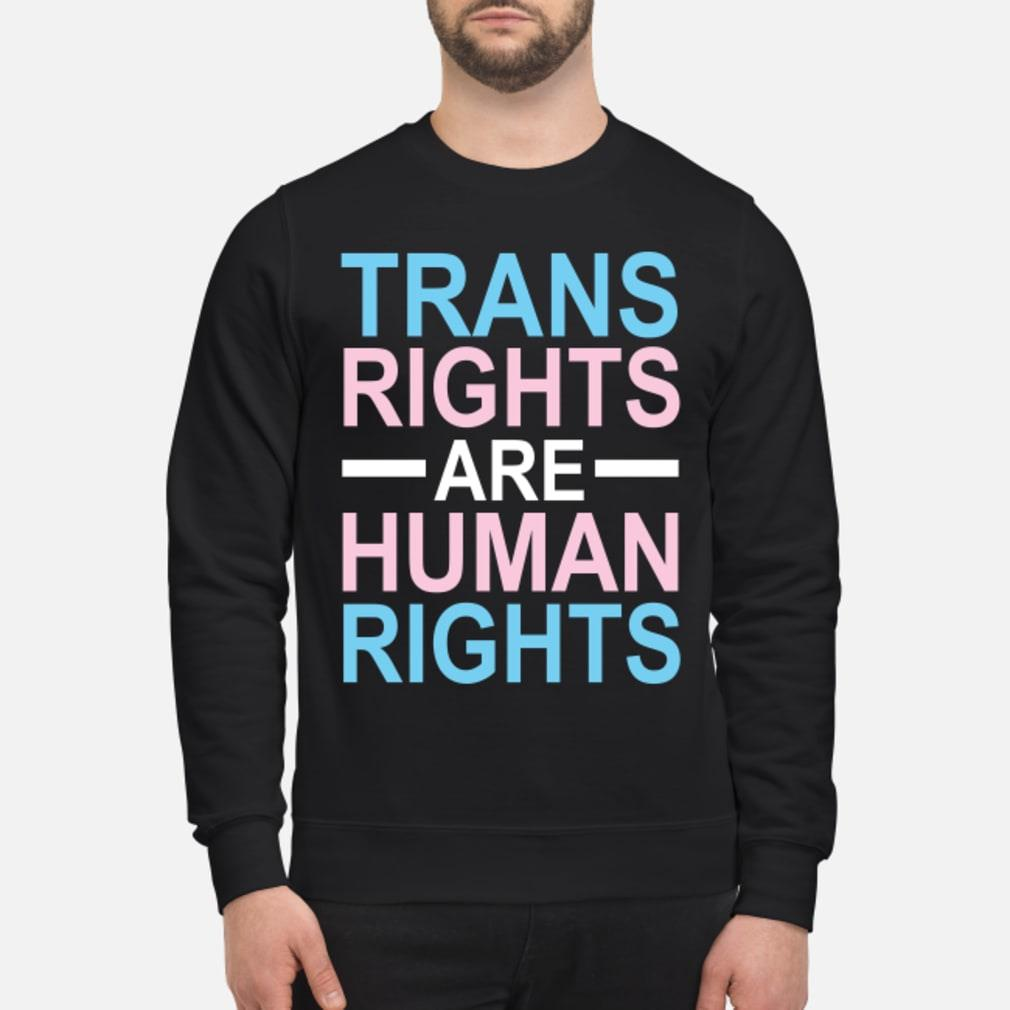 trans rights are human rights shirt sweater