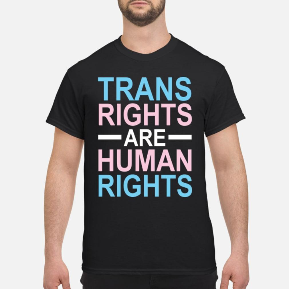 trans rights are human rights shirt