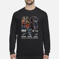 08 years of the SHIELD thank you for the memories signature shirt long sleeved