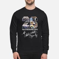 26 Years of Backstreet Boys signature shirt sweater