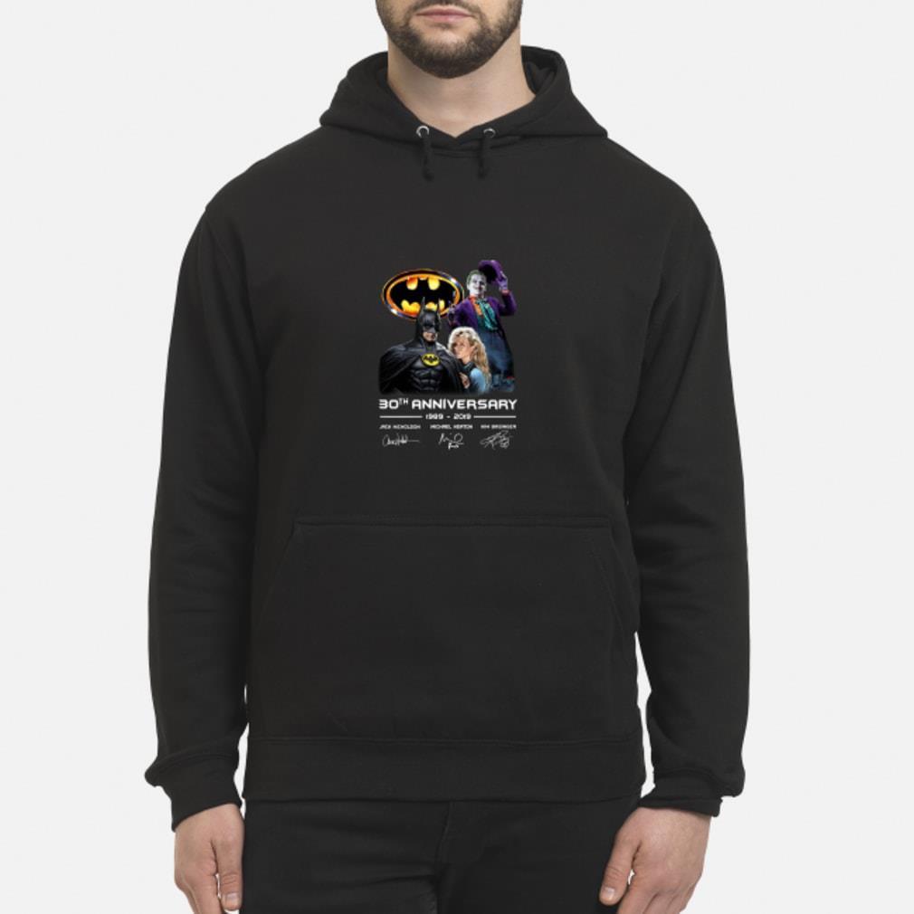 30th anniversary Jack Nicholson Michael Keaton 2019 shirt hoodie