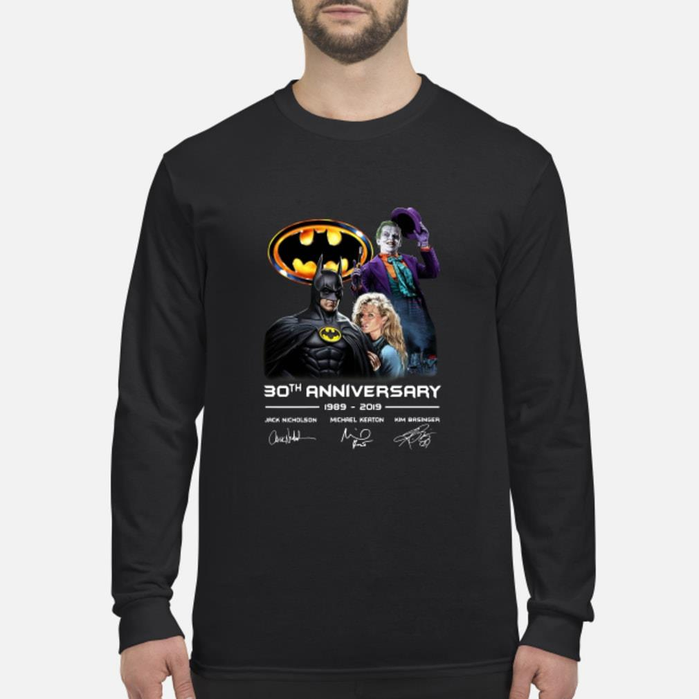 30th anniversary Jack Nicholson Michael Keaton 2019 shirt Long sleeved
