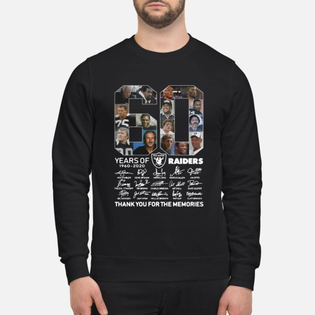 60 years of Oakland you for the memories shirt sweater