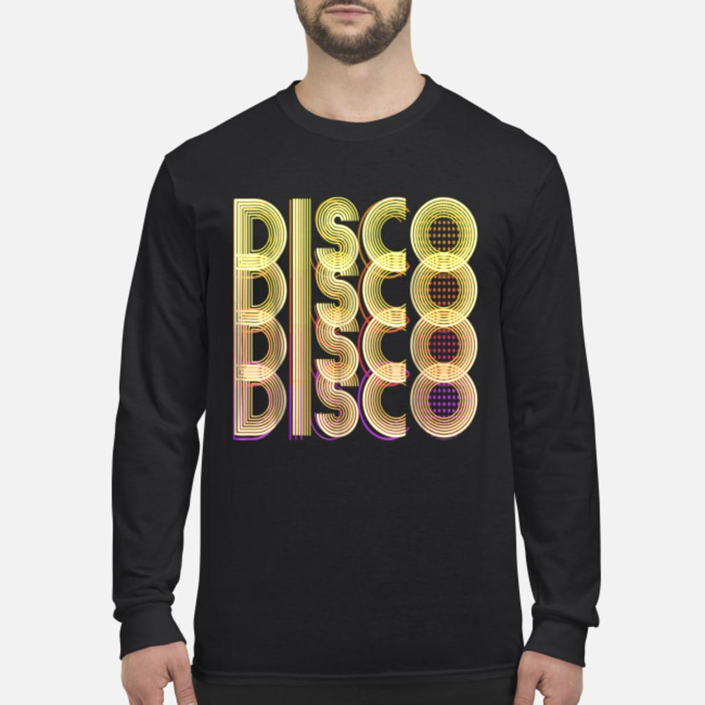 70s Disco Themed Vintage Party Wear shirt Long sleeved