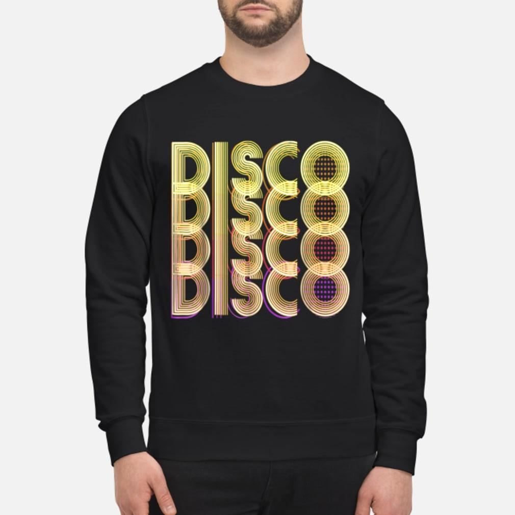 70s Disco Themed Vintage Party Wear shirt sweater