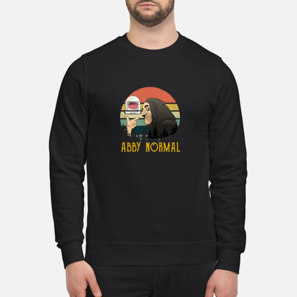 Abby normal shirt sweater