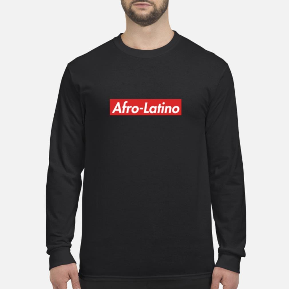 Afro-Latino Supreme shirt Long sleeved