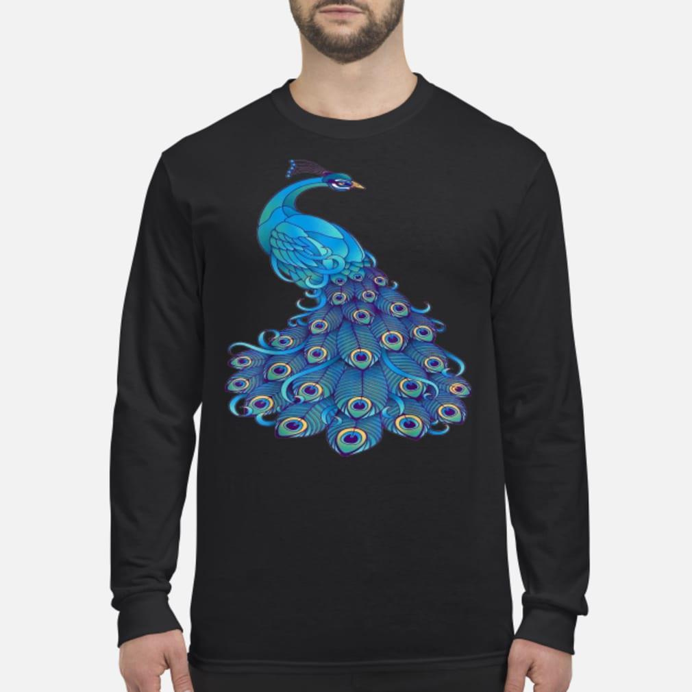 Beautiful Peacock T-Shirt Long sleeved