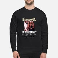 Boney M 45 Anniversary Thank You for The Memories Shirt sweater