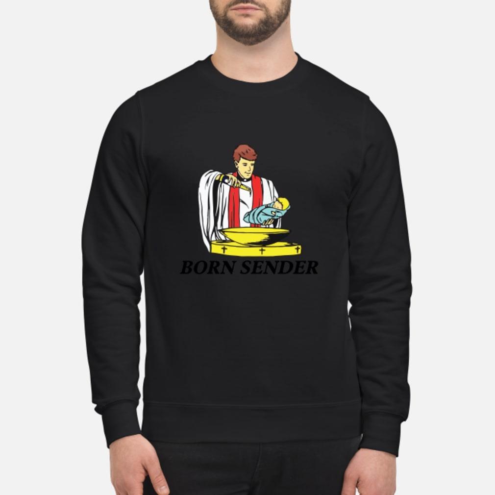 Born sender shirt sweater
