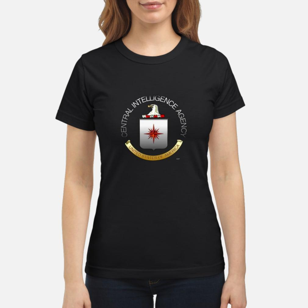 Central Intelligence Agency United States of America shirt ladies tee