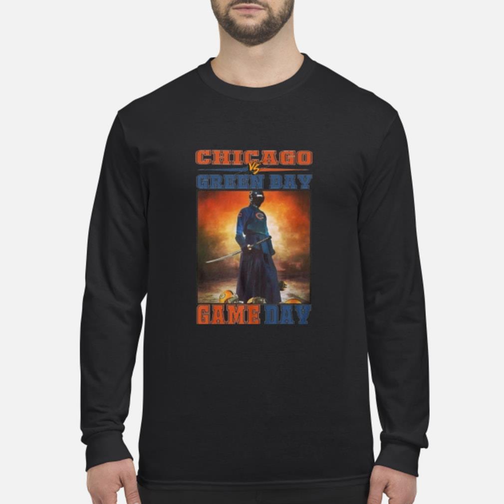 Chicago Vs Green Bay Game Day Shirt Long sleeved