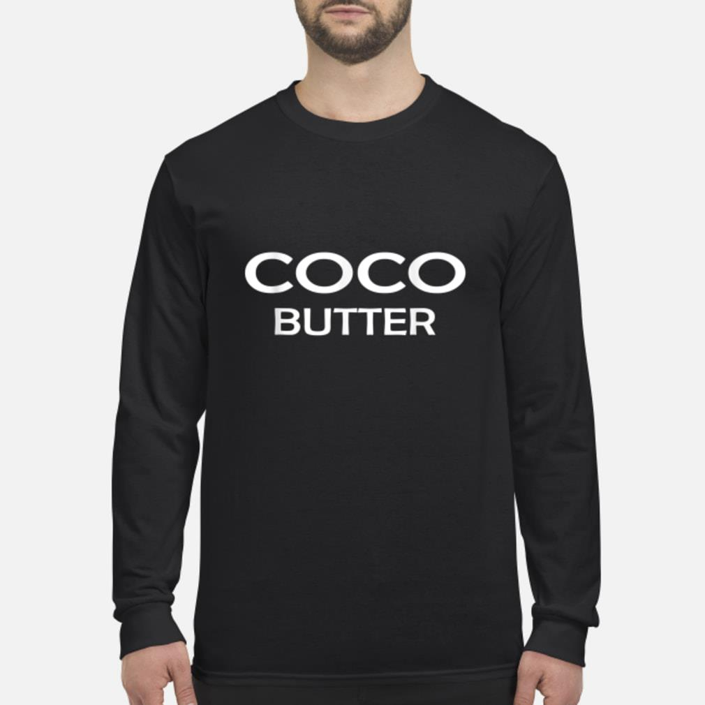 Coco butter t-shirt Long sleeved