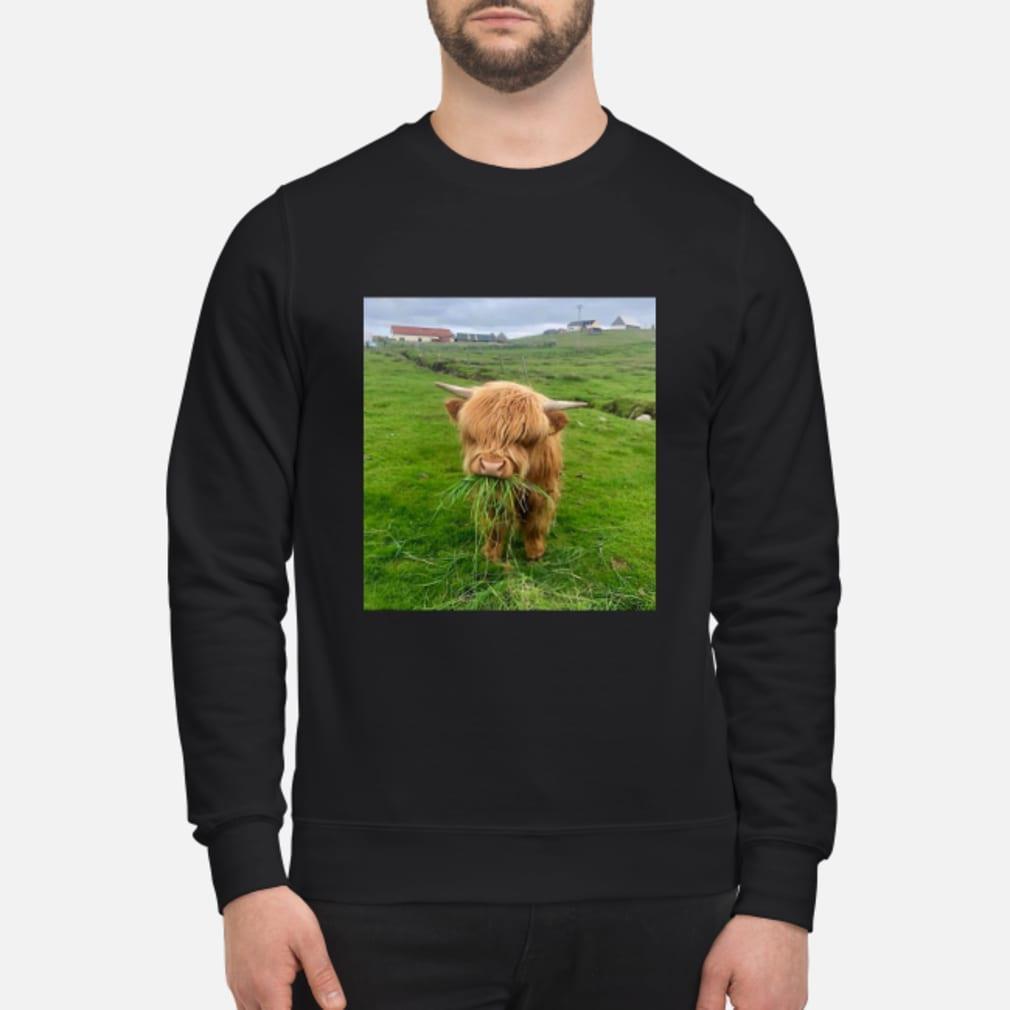 Cute Scottish Highland Cattle Shirt sweater