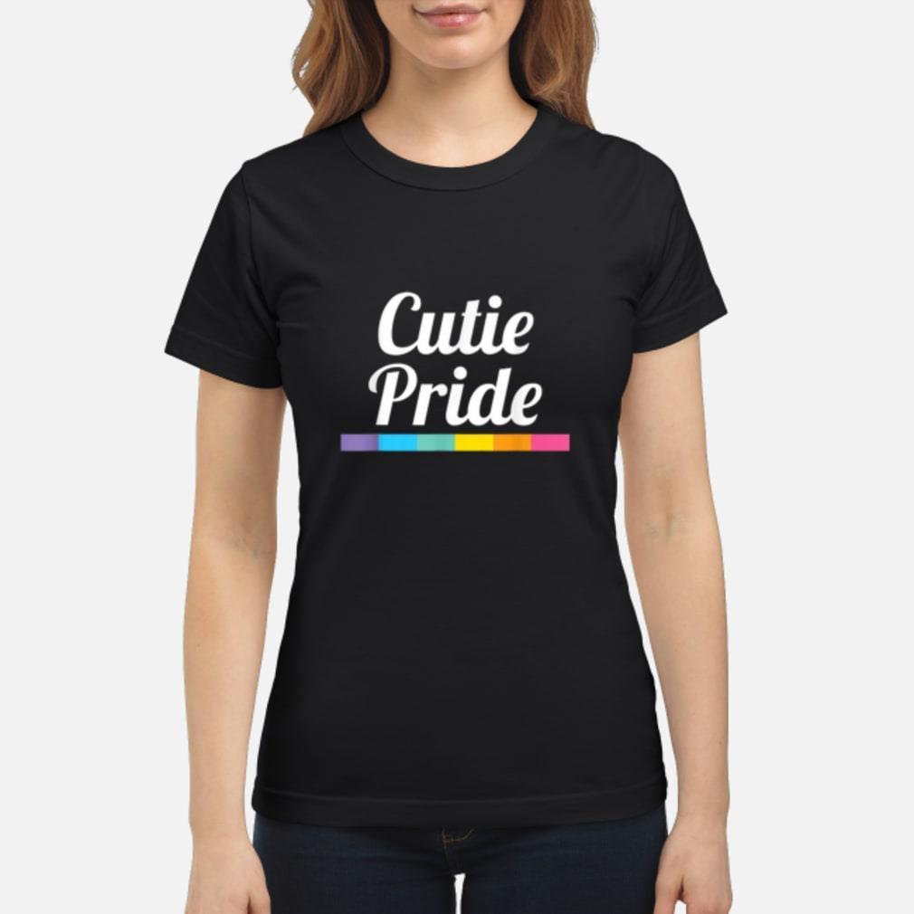 Cutie Pride Lgbtq shirt ladies tee
