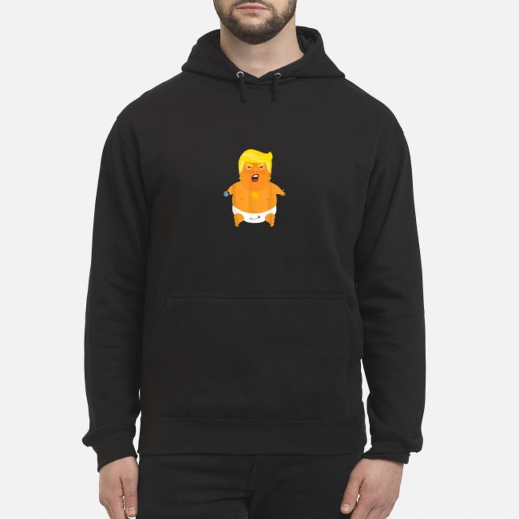 Donald Trump baby balloon Shirt hoodie