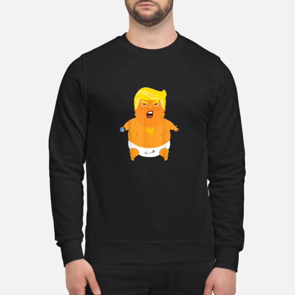 Donald Trump baby balloon Shirt sweater