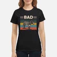 Donkey bad vintage shirt ladies tee