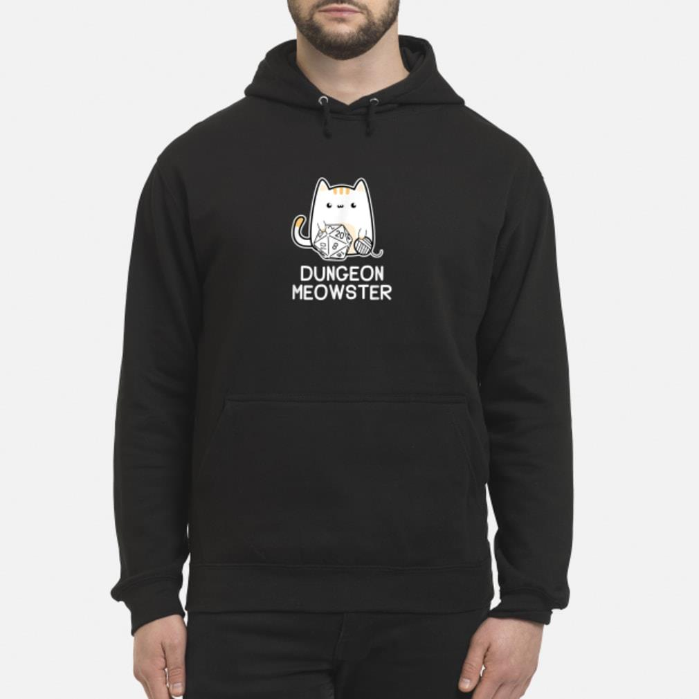Dungeon Meowster Tabletop Gamer Shirt hoodie