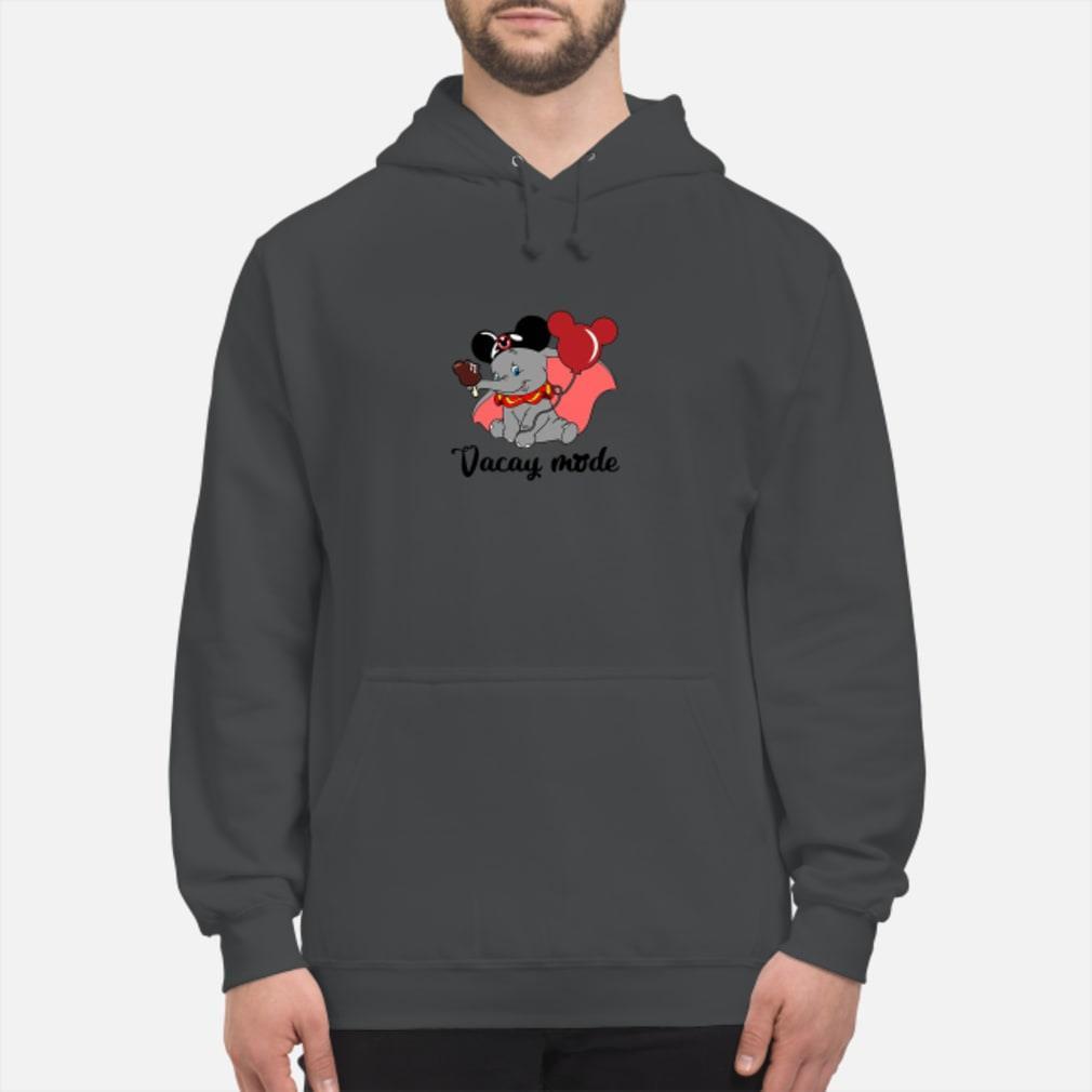 Elephant Vacay mode mickey shirt hoodie