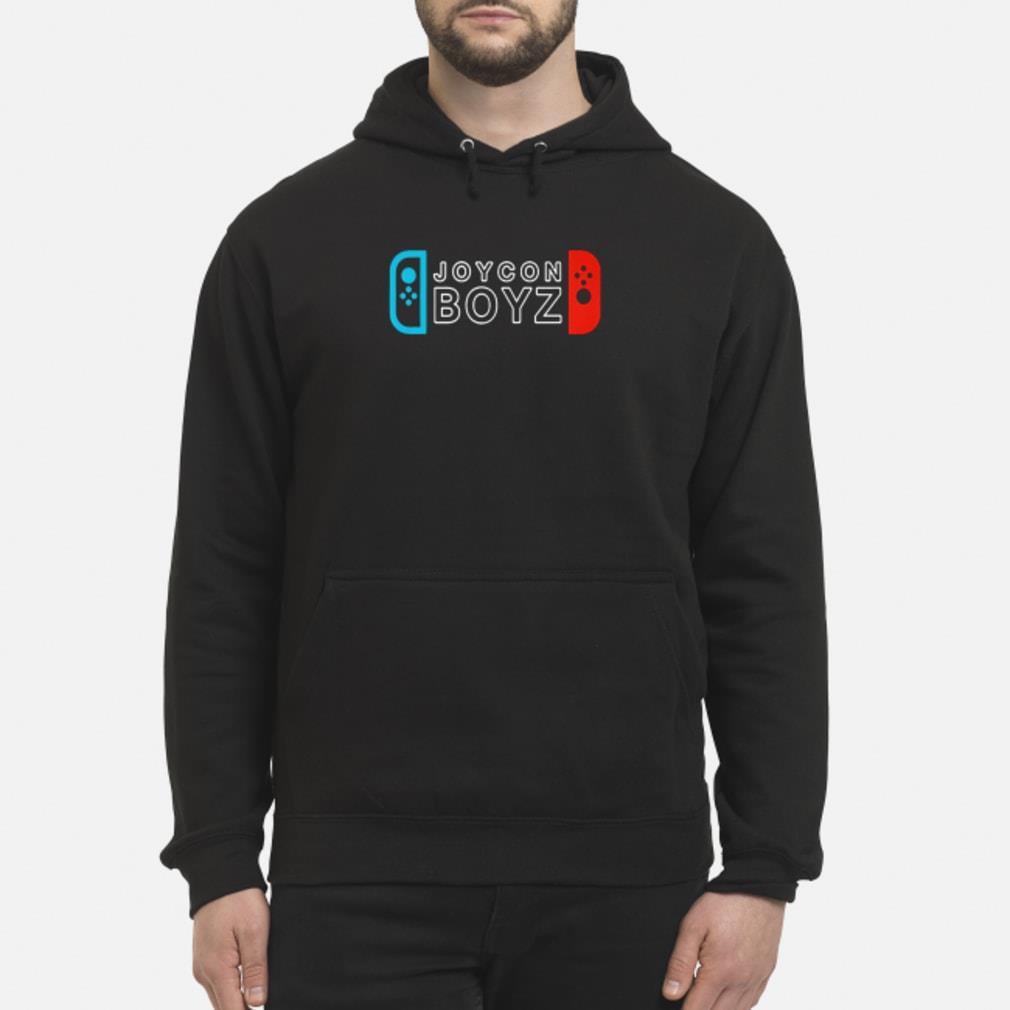 Etika's Joycon Boyz shirt hoodie