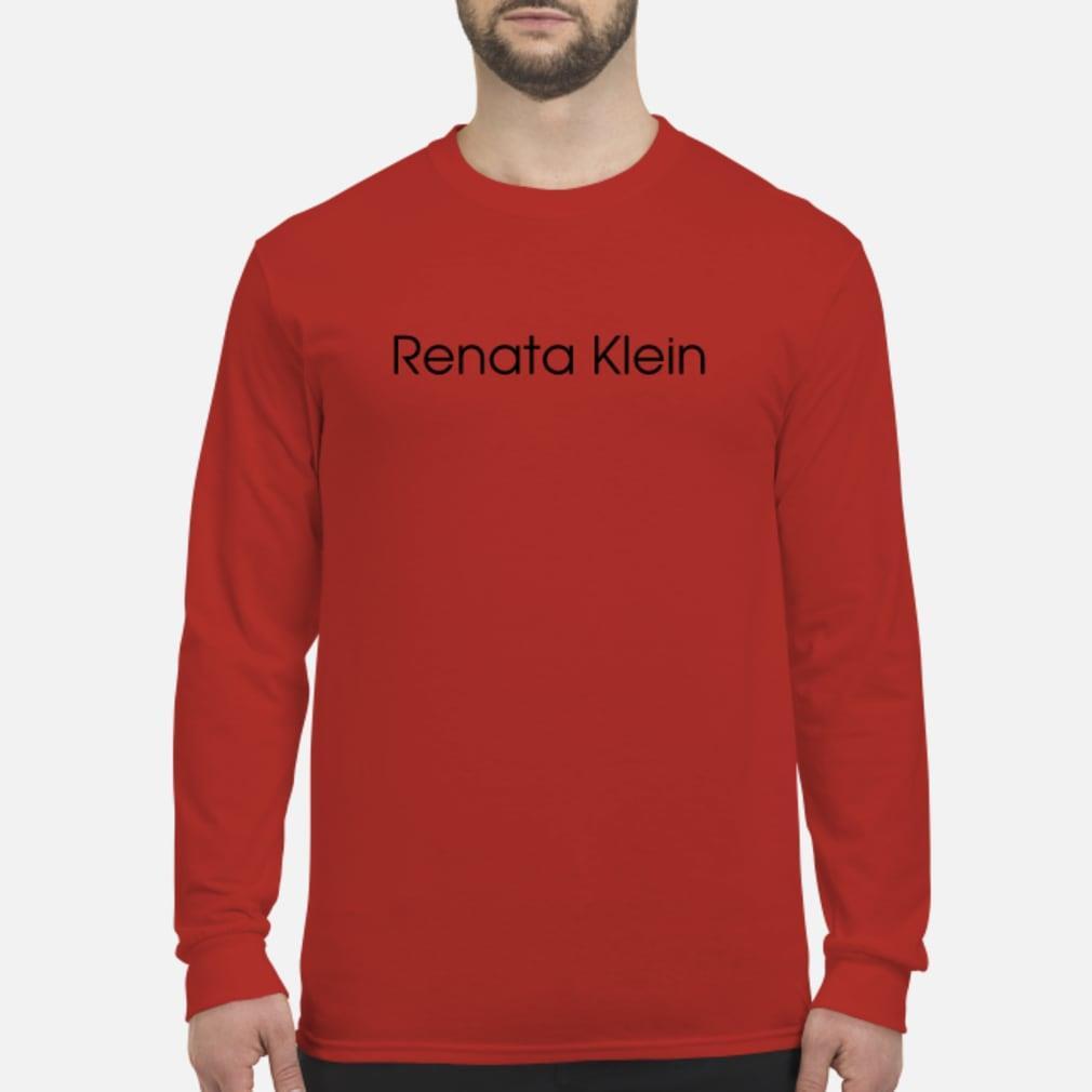 Evan Ross Katz Renata Klein shirt Long sleeved