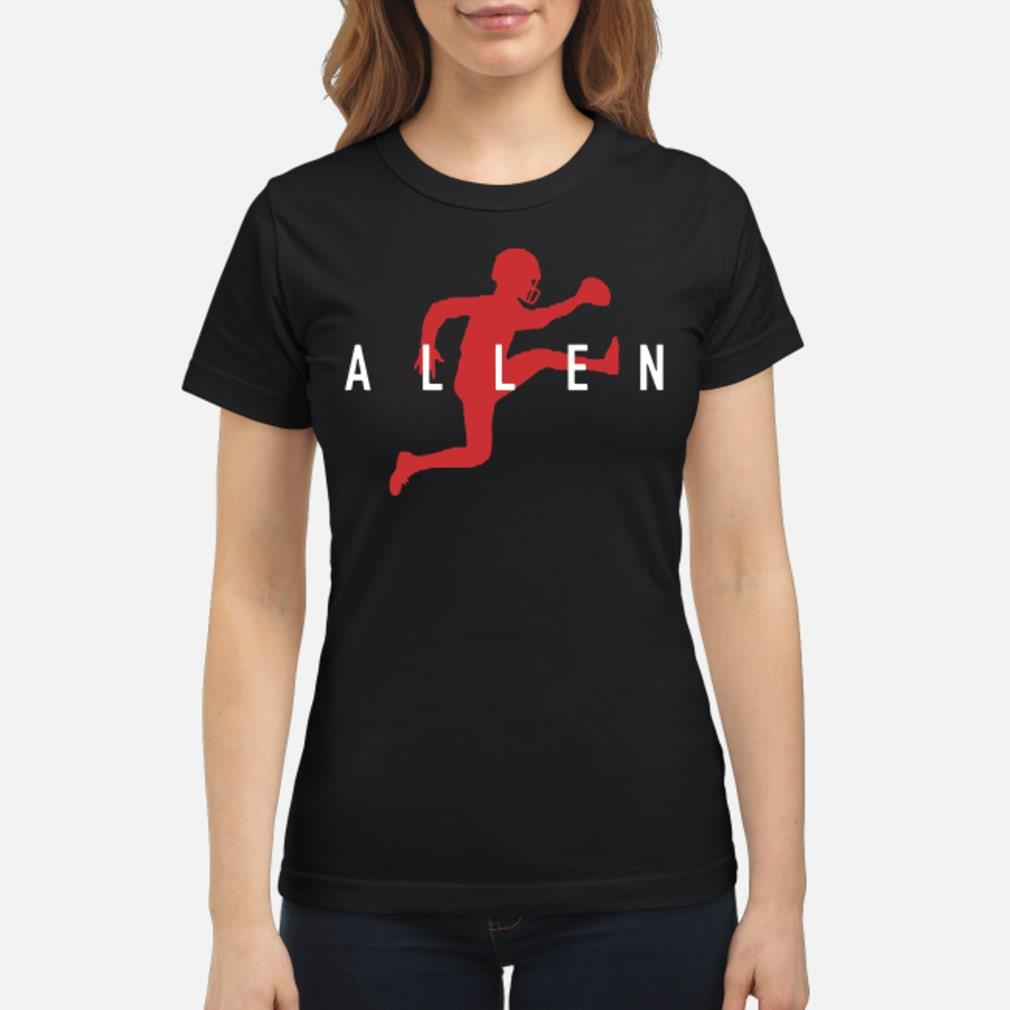Football Air Jordan Allen shirt ladies tee